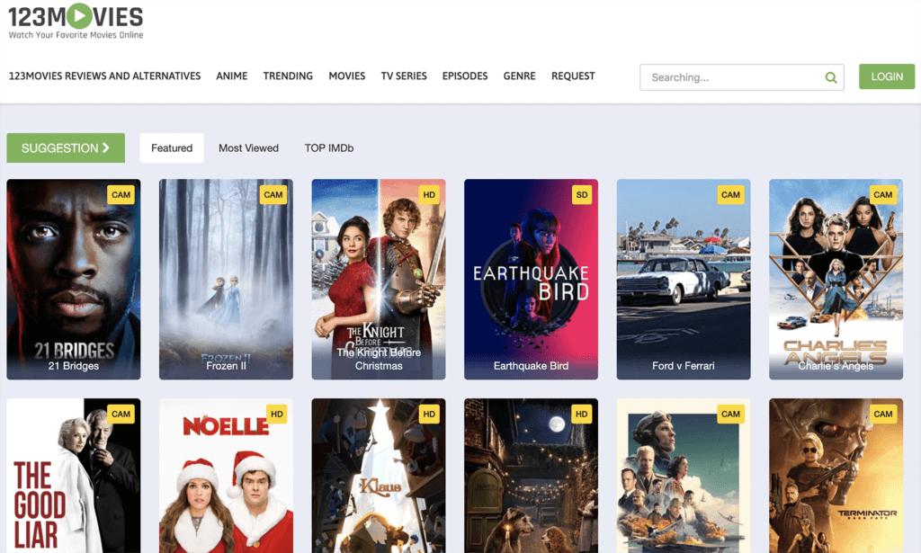 123movies – Watch Free Online Movies, TV Series In 2021