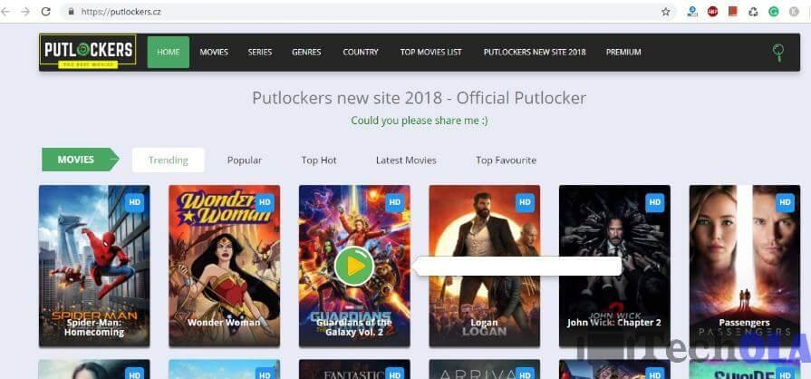 Best 15 alternatives for putlocker In 2021